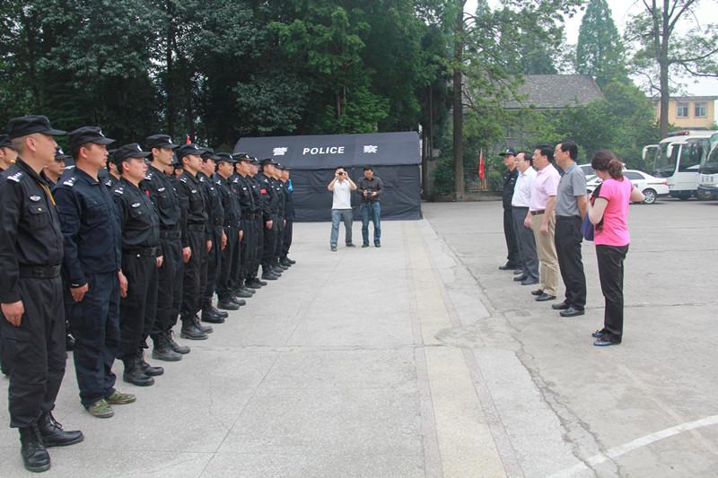 市局特巡警支队综合基础大队副大队长熊烈